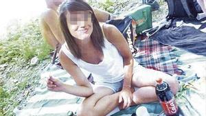 La joven Martina Rossi en una imagen obtenida de sus redes sociales.