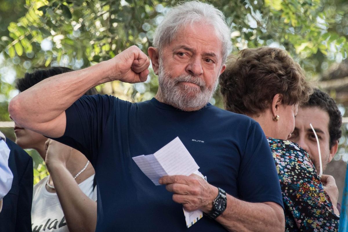 El expresidente de Brasi,Luiz Inacio Lula da Silva.