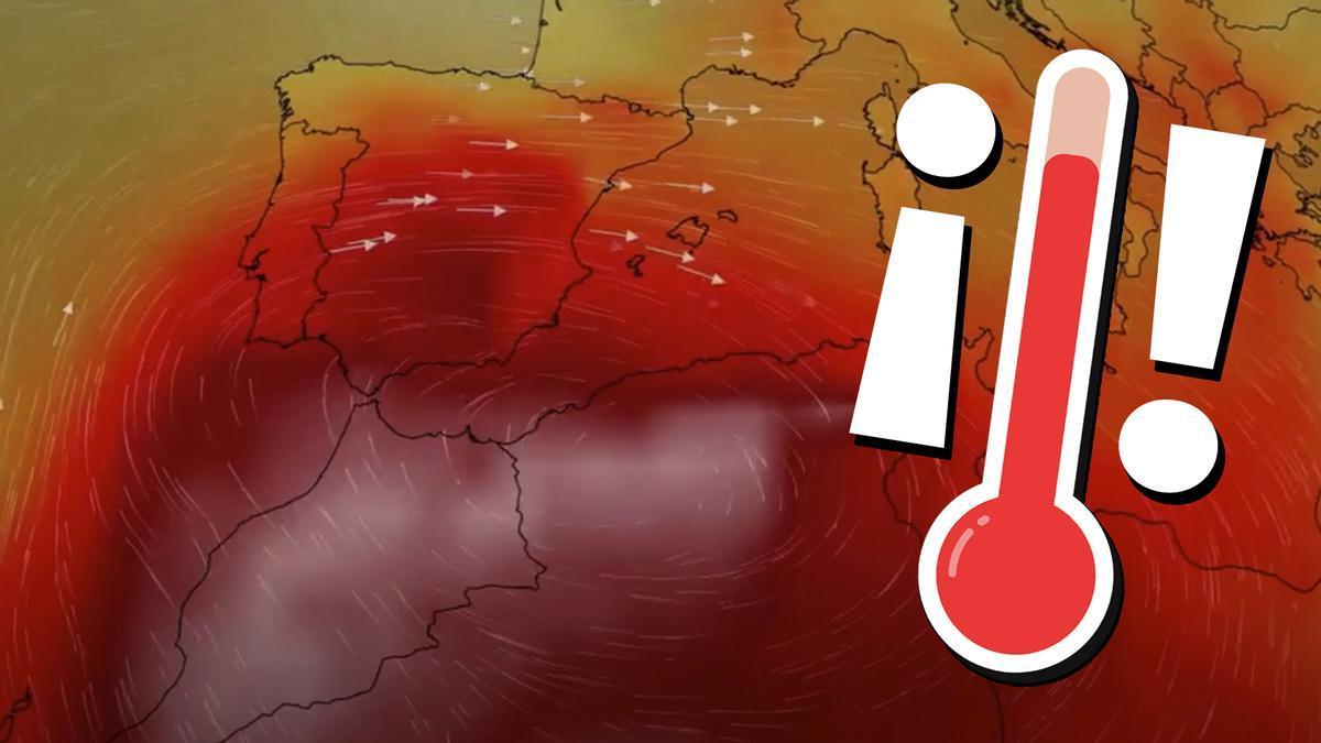 Los meteorólogos se están quedando sin colores para representar el calor extremo.