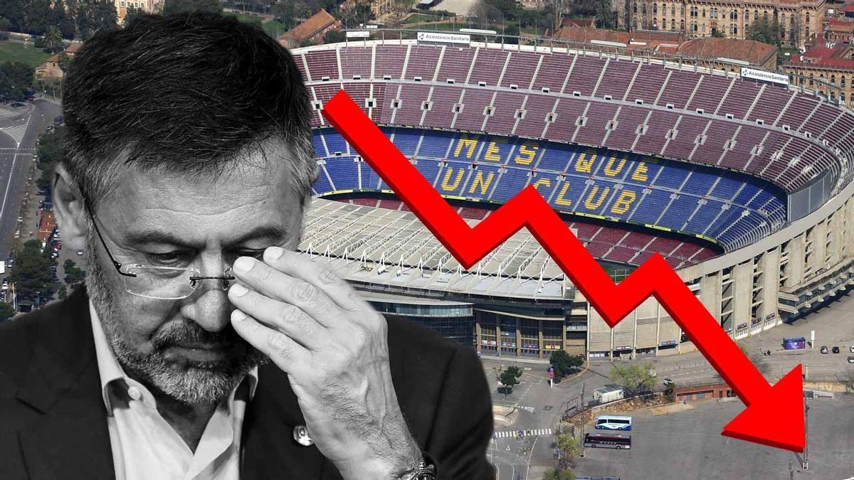 Alarma en el Barça: una deuda asfixiante exigirá un plan de choque drástico.