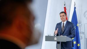 Pedro Sánchez, tras reunirse con los presidentes autonómicos.