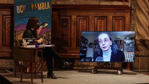 Anna Guitart entrevista a la autora norteamericana Joyce Carol Oates en ocasión del Premio Carvalho.
