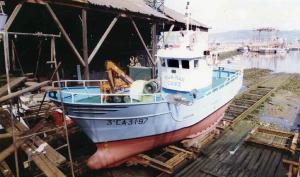 Pesquero 'Rúa Mar', desaparecido en el Estrecho.