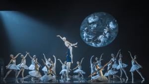 Un momento del espectáculo del Ballet de Barcelona.