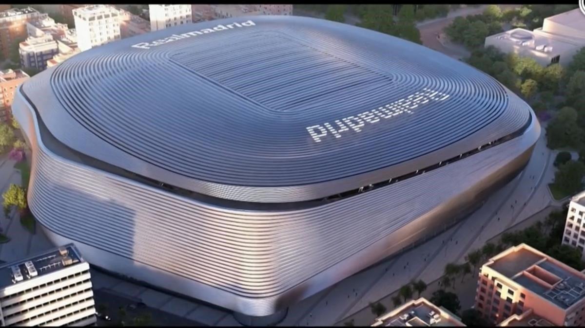 El nuevo Santiago Bernabéu.