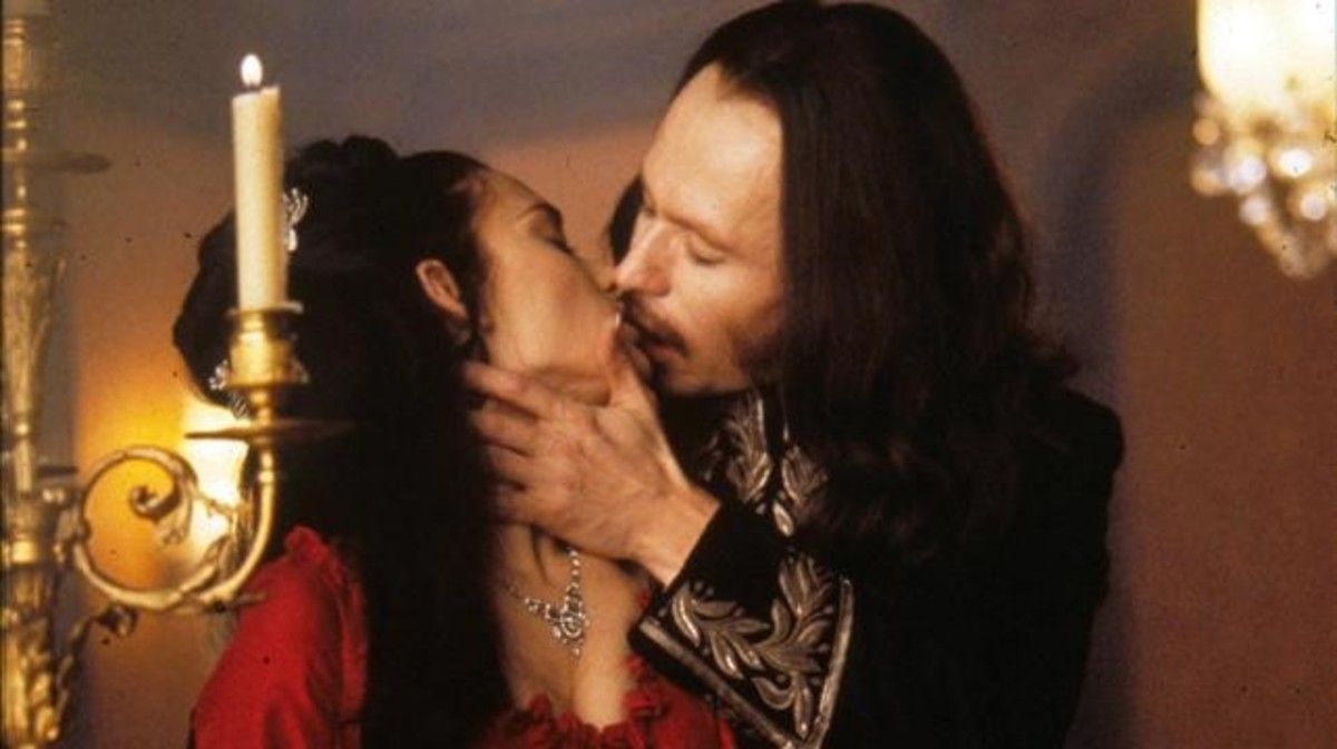 Una imagen de la película 'Drácula de Bram Stoker' (1992), con Gary Oldman y Winona Ryder.