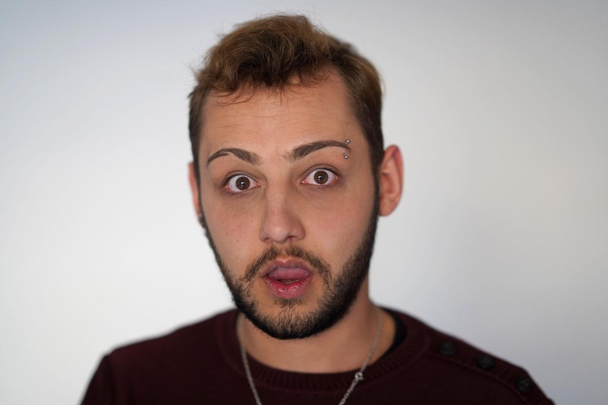 Gestos faciales que indican sorpresa