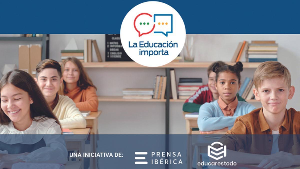Cartel del evento La Educación Importa