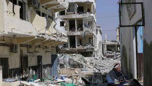 Atentado con camión bomba en Mogadiscio, Somalia.