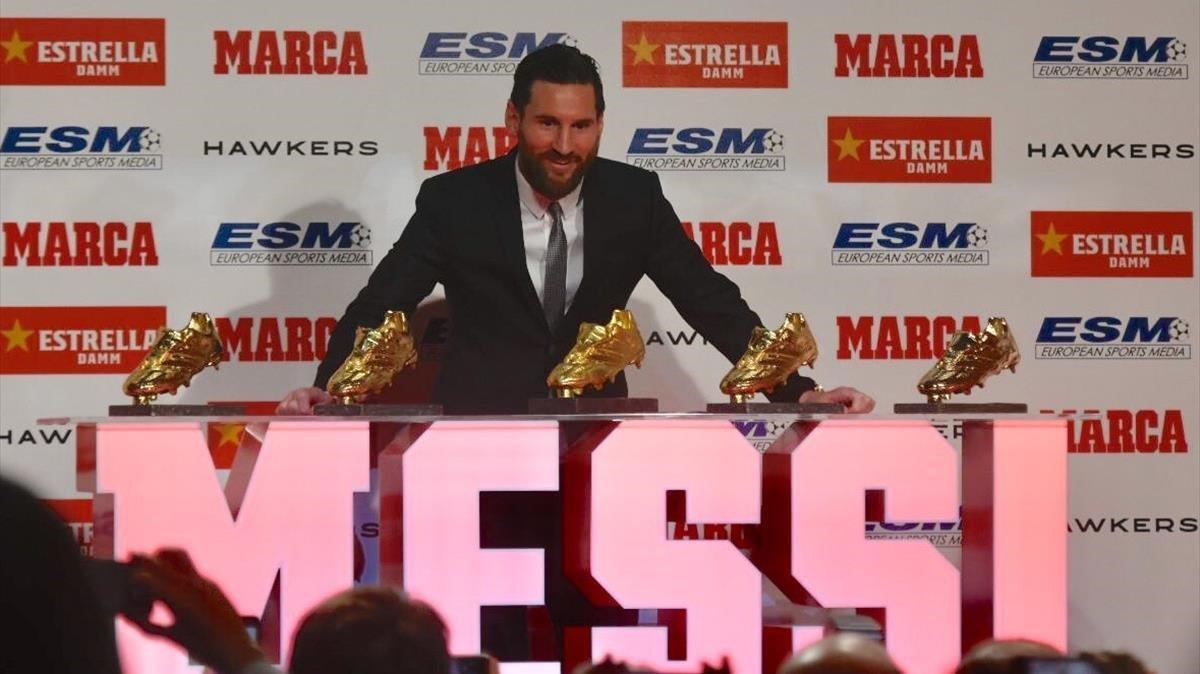 Messi ja té més Botes d'Or que ningú