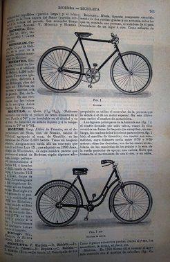 La definición de la bicicleta, en 1931