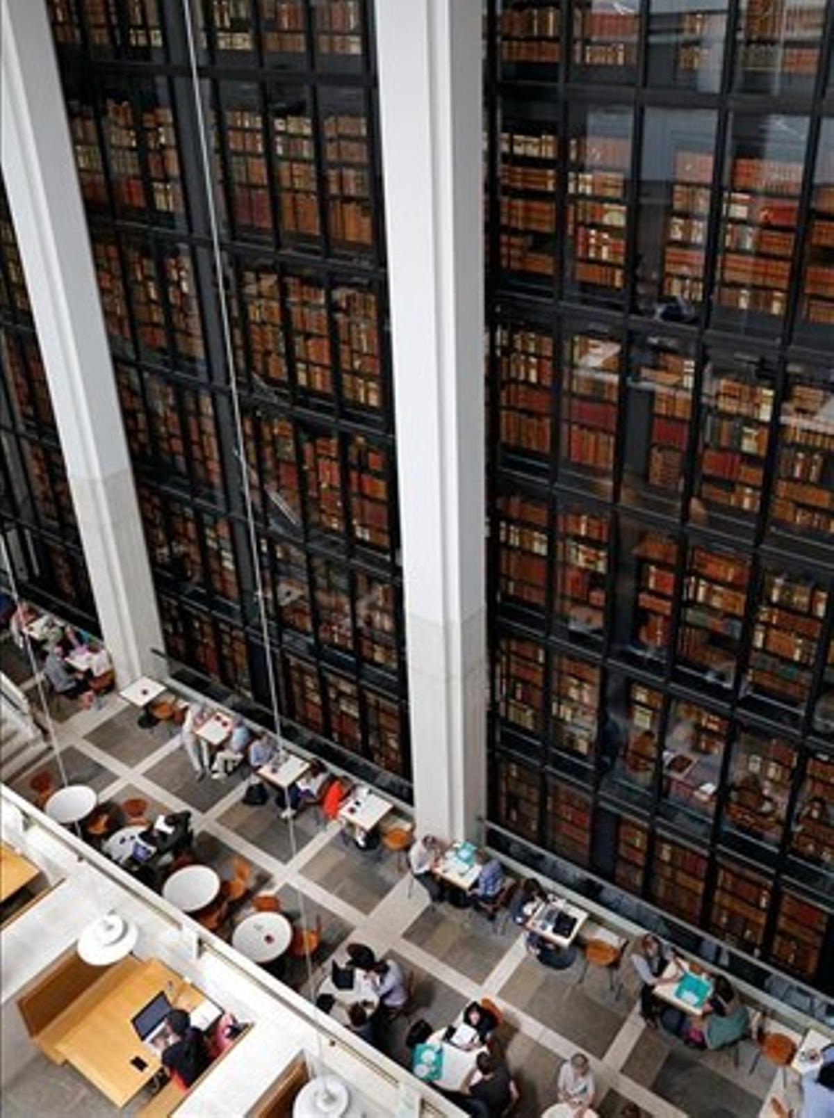Interior de la Biblioteca Británica
