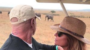 Kiko Matamoros, de safari per Kenya