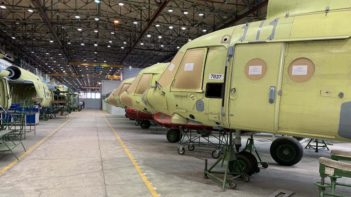 Helicópteros de Rusia aspira a abrirse camino en el mercado de la UE
