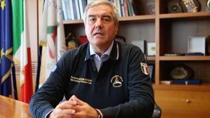 Angelo Borrelli, jefe de Protección Civil y primer portavoz de la pandemia en Italia.