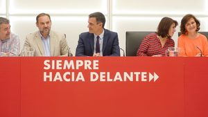 Lastra i Cerdán assumeixen el timó del PSOE després de la renúncia d'Ábalos