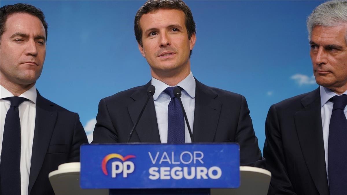La radicalització del PP de Casado acaba en fracàs total