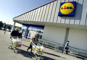 Imagen de la fachada de un supermercado de la cadena alemana Lidl.