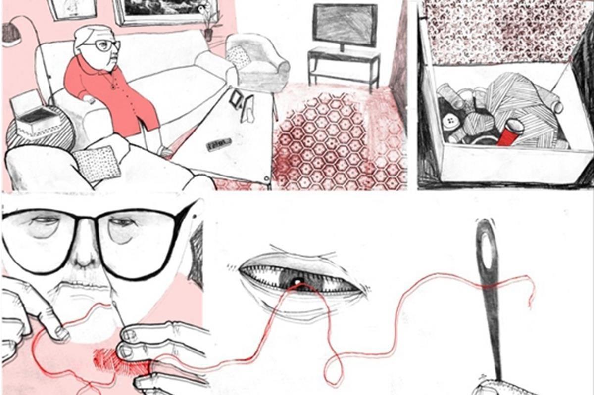 Página de 'Estamos todas bien', de Ana Penyas.