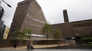Edificio principal de la Tate Modern en Londres.