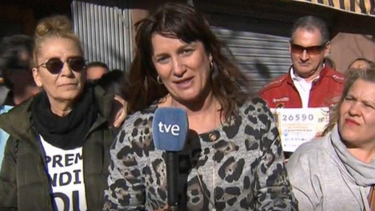 El caso de la reportera de TVE que mintió sobre el Gordo salta a la prensa internacional