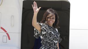 Michelle Obama, de vacances a Mallorca