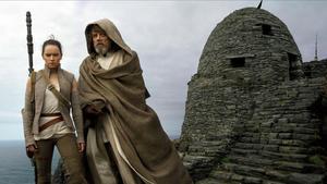 Una escena de 'Star Wars: los últimos jedi', una de las películas más pirateadas.