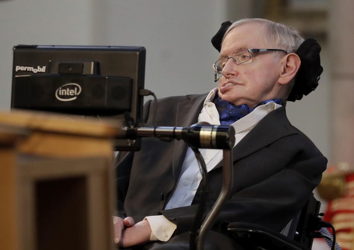 El científico británico Stephen Hawking