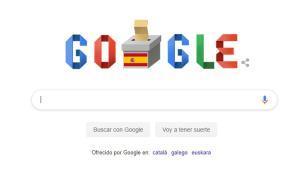 El 'doodle' de Google.