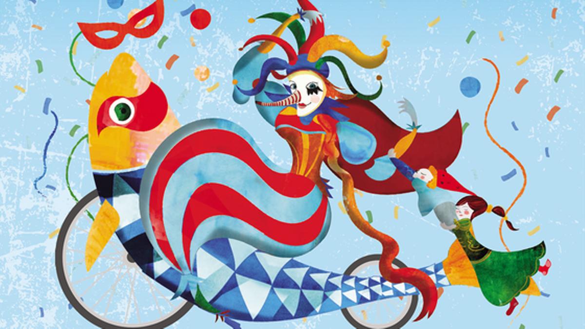 Cartel del Carnaval de Cornellà.