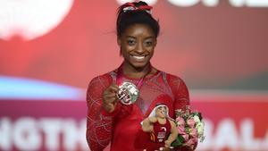 Simone Biles, la reina de la gimnasia artística, suma 25 medallas.