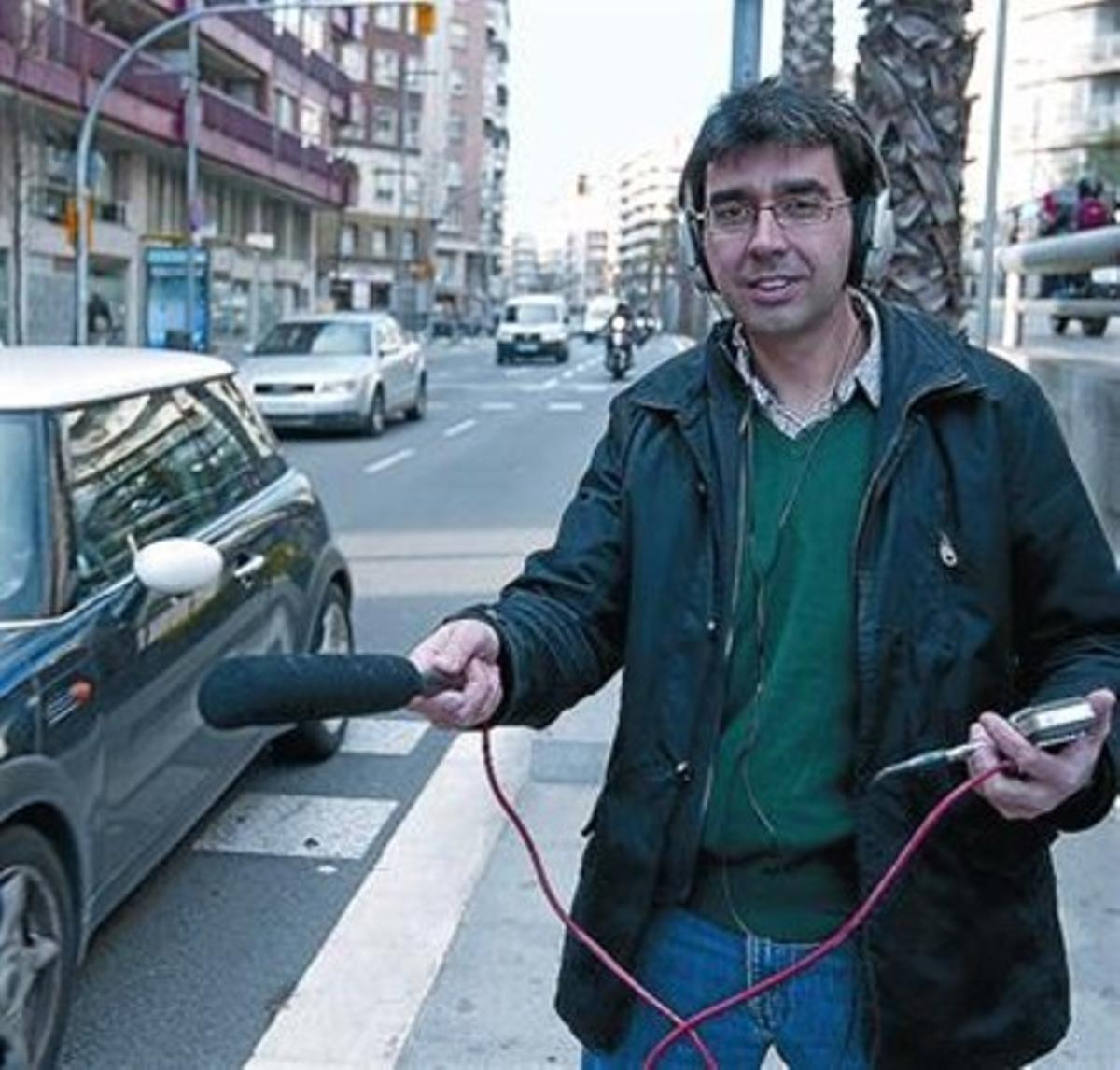 Albert Murillo: «Fue eso lo que me salió hacer: salir a la calle a grabar sonidos»