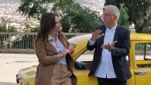 Xavier Sardà y Mamen Mendizábal en 'Palo y astilla'.
