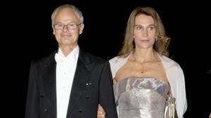 El príncipe Álvaro de Orleans Borbón y la princesa Antonella de Orleans Borbón en una foto de archivo.
