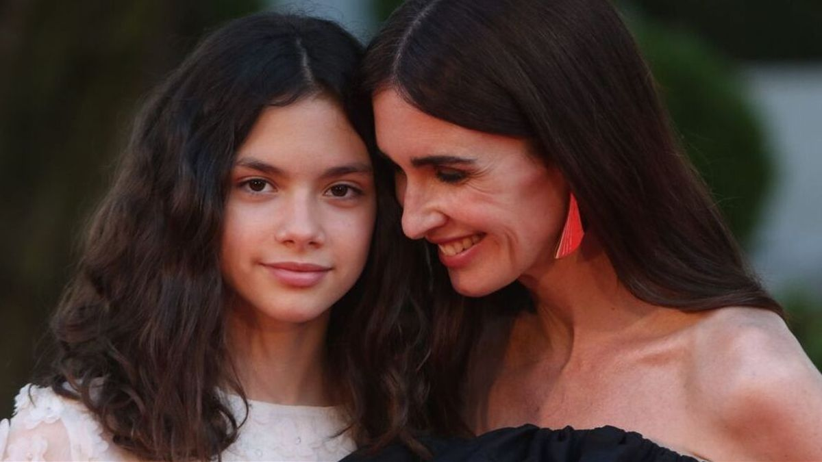 Paz Vega e hija, blanco y negro en el debut de Ava Salazar en el Festival de Málaga