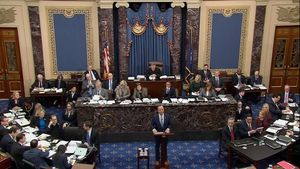 Els republicans imposen les seves regles en la primera jornada del judici a Trump