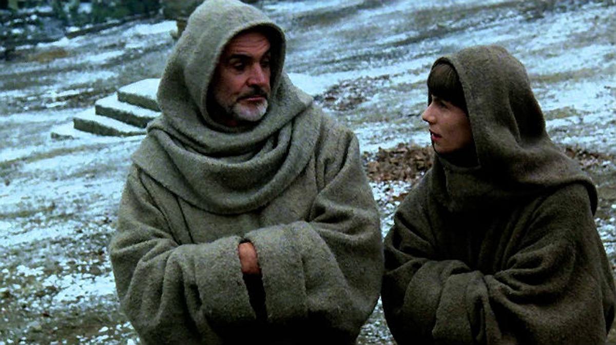 Fragmento de la película 'El nombre de la rosa' (1986), basada en ellibro de Umberto Eco.
