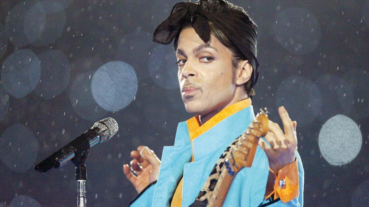 El cantante Prince.