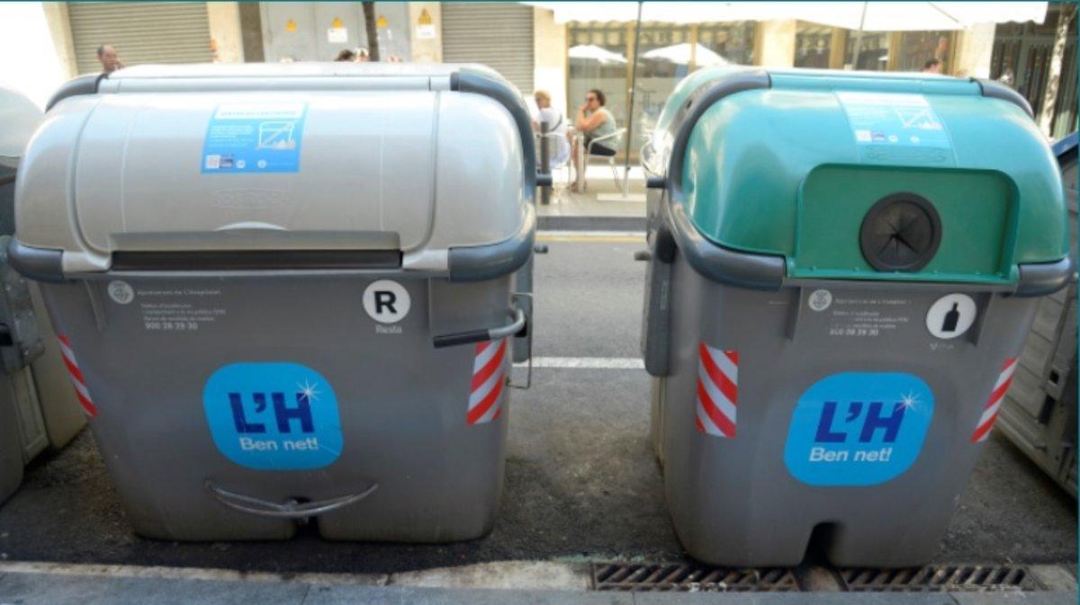 L'Hospitalet incrementó, de media, un 8% la recogida selectiva de residuos en el año 2019.