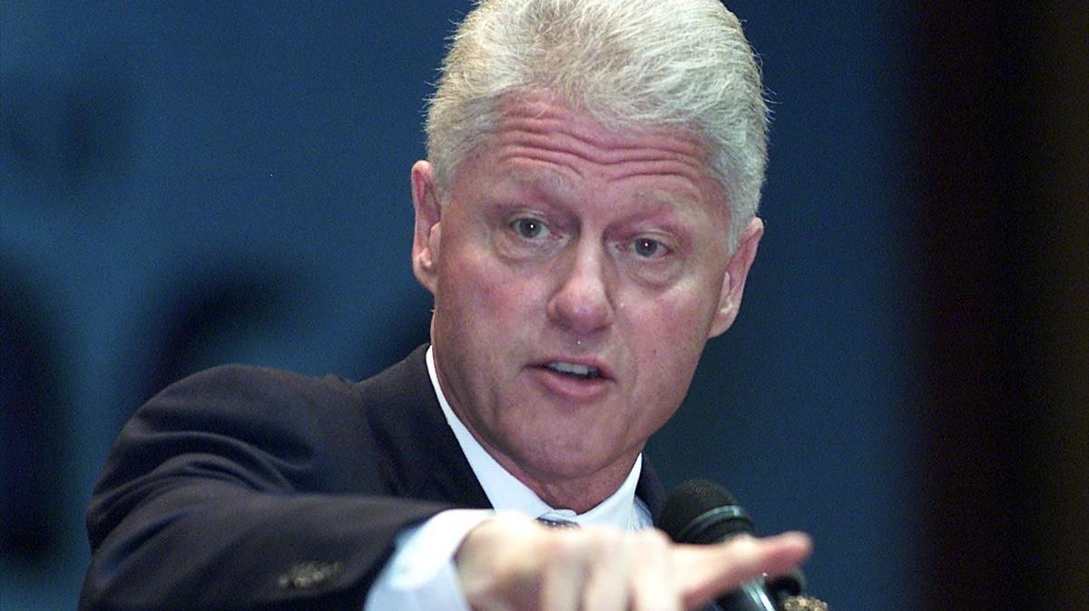 Bill Clinton, en septiembre del 2002 en Sudáfrica.