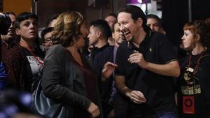 Iglesias busca reforçar els seus llaços amb Garzón i Colau