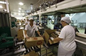 Imagen de la empresa de patatas fritas y snacks Frit Ravich en Maçanet de la Selva.