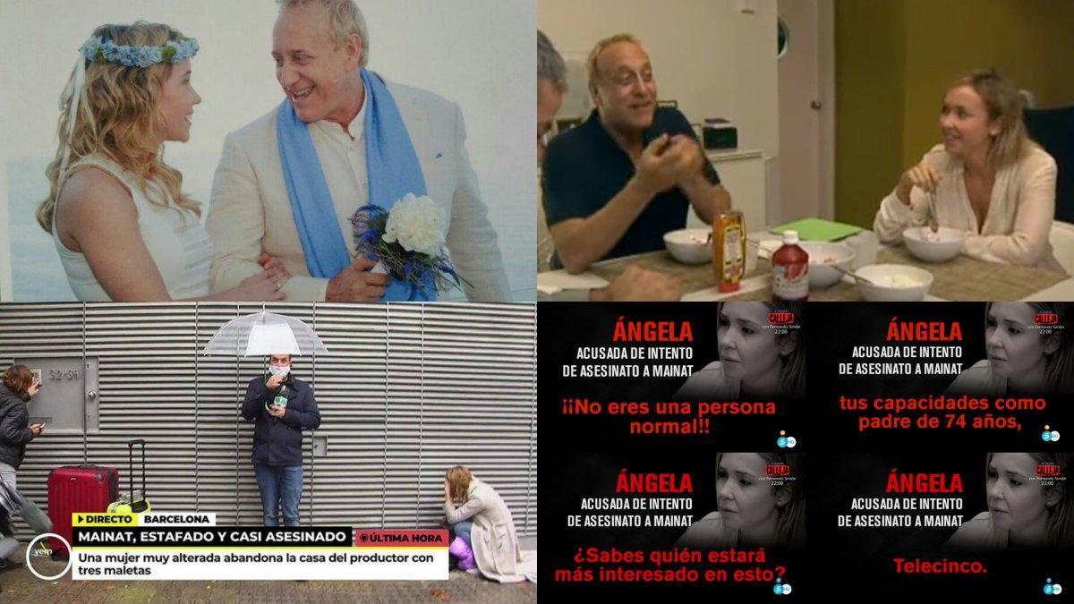 Algunos de las imágenes del caso Josep María Mainat.