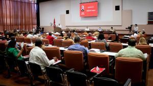 Los asistentes al Congreso del Partido Comunista de este fin de semana en Cuba.