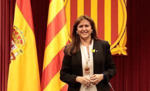 Laura Borrás, presidenta del Parlament de Catalunya
