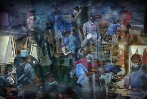 Fotos Ricard Garcia Vilanova para el libro de la editorial Blume  The Lybian crossroads    Pasaje mortal a Europa 2011-2020