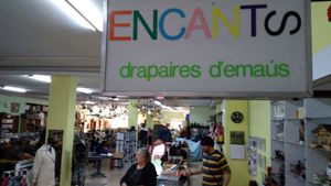La tienda de productos de segunda mano de la comunidad de Emaús en Sabadell.