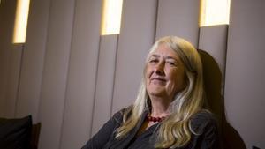 La historiadora Mary Beard, en Barcelona.