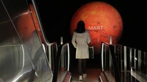 Marte nos visita y aterriza en el CCCB