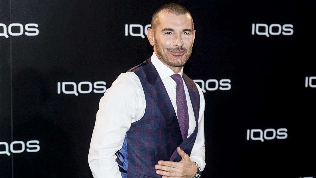 Jesús Vázquez, presentador de 'Bake off España'.